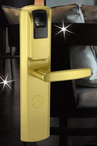 Fingerprint & RF Card Lock (V62013FP-PB) pictures & photos