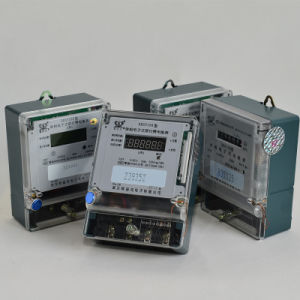 Single Phase AC Energy Direct Connection Electronic Kwh Meter pictures & photos