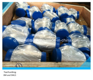 Anis B16.9 Fittings Stainless Steel 316/316ti Seamless Tee pictures & photos