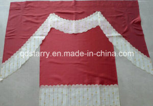 Red Color Amercia Kitchen Curtain pictures & photos