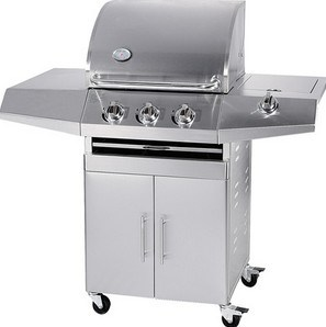 Stainless Steel Gas Grill BBQ with Side Burner (WSH-BA02) pictures & photos