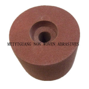 "8""X3"" Non Woven Polishing Wheel with Special Hole pictures & photos"