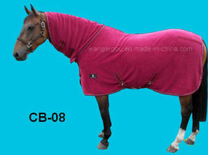 Fleece Breathable Cooler Moisture Wicking Anti-Sweat Travel Show Rug (CB-08) pictures & photos