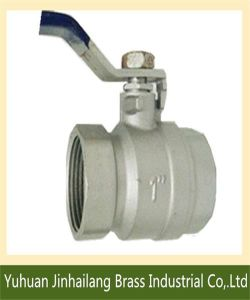 China Manufactory Forged Brass Ball Valve Water