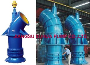 Axial Flow Vertical Big Flow Pump with Diesel Engine pictures & photos