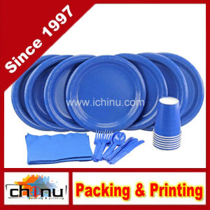 Dinner Plates, Cutlery, Napkins and Cups (220003) pictures & photos