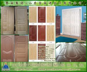 Melamine HDF Door Skin pictures & photos