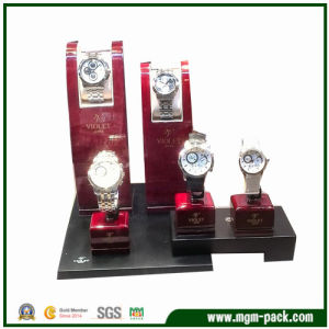 Fashion Design Luxury Lacquered Wood Watch Display Stand pictures & photos