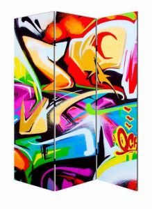Abstract Painting Canvas Room Screen Divider Home Decors