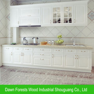 American Style Melamine Particle Board Kitchen Cabinet pictures & photos