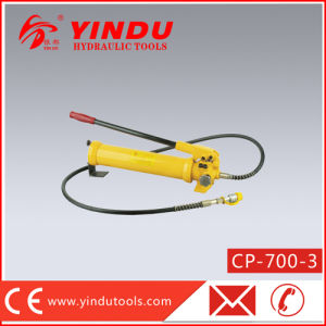 700 Bar Big Oil Capacity Hydraulic Hand Pump (CP-700-3) pictures & photos