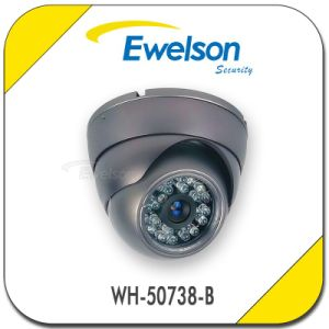 Hot! ! 24PCS LEDs 20m IR Distance Color Day and Night Indoor Dome Security CCTV Camera Top10 CCTV Camera (WH-50738-B)