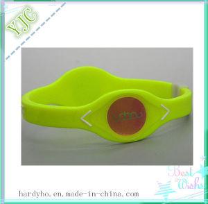 Elastomer Energy Silicone Rubber Wrist Band
