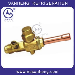Hot Selling Flow Refrigeration Ball Valve pictures & photos