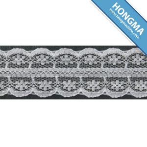 Nylon Crochet Non Elastic Tricot Lace (1608-0008) pictures & photos