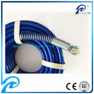 SAE 100r7/R8 Nylon PU High Pressure Paint Sprey Hose pictures & photos