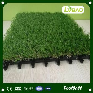 Outdoor Garden Decoration Interlocking Artificial Grass Tile pictures & photos
