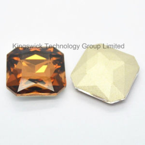 Smoked Topaz Cubic Square Crystal Stone pictures & photos