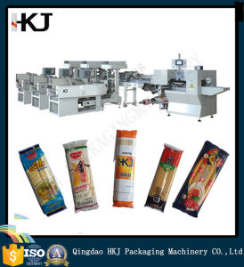 Full Automatic Long Pasta Spaghetti Wrapping Machine pictures & photos