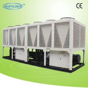 358kw-632kw Double Compressor High Cop Screw Air Cooling Chiller pictures & photos