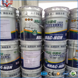 Gel-Like Rubber Modified Asphalt Waterproof Coating, Solvent-Free Rubber Modified Bitumen Waterproof Coating