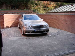 Driveway Car Parking Turntable for Sale pictures & photos