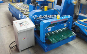 Glazed Tile Roll Forming Machine with High Efficiency (XF28-207-1035)