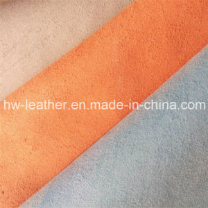 High Quality Microfiber Leather for Seat Cover Hw-657 pictures & photos