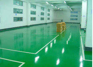 Anti-Static Epoxy Floor with Topcoat Self-Leveling and Mirror Effect pictures & photos
