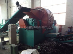 Waste Tire Cutting Tyre Recycling Production Line Machine pictures & photos