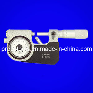 Precision Indicator Snap Micrometer (0-25, 25-50, 50-75, 75-100mm) pictures & photos