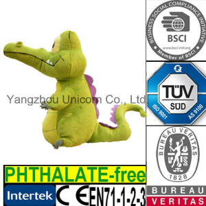 EN71 CE Stuffed Plush Toy Crocodile