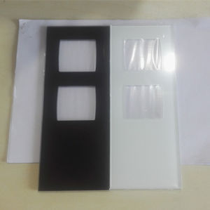 Silk Screen Printing Tempered Glass pictures & photos