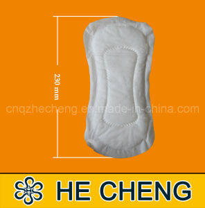 Standard Wingless Sanitary Napkins with Pulp pictures & photos