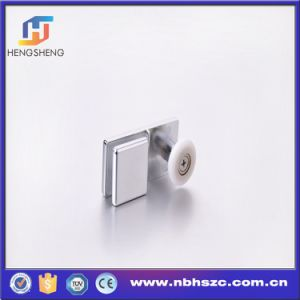 Zinc Alloy Glass Shower Door Single Pulley pictures & photos