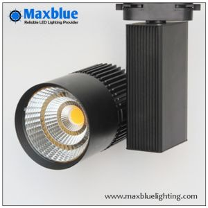 30W COB LED Track Spot Light/ Track Lighting Fixtures for Shop/Store/Mall/Art Gallery Ce, RoHS, SAA, ETL pictures & photos