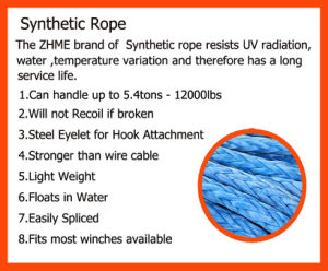 Synthetic Rope with Chinese Quality Silk pictures & photos