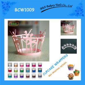 BBA Dancing Girl Cupcake Wrapper (BCW1009)