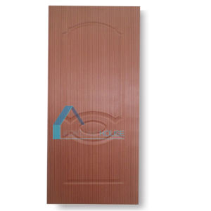 3 Panel Molded Plywood Door Skin with EV Teak Veneer pictures & photos