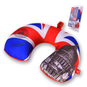 Air Cushion U Shape Travel Pillow with Printing Design pictures & photos
