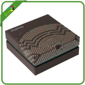 Textured Paper Cardboard Box with Offset Printing Logo pictures & photos