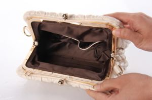 High Quality cosmetic Bags Clutches Leather Handbags (LDB-018) pictures & photos