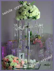 Beautiful Crystal Crafts Wedding Candelabra Zt-113