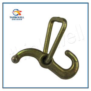 Forged Tow T Hook J Hook with D Ring pictures & photos