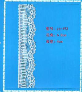 Narrow Raschel Lace (carry oeko-tex standard 100 certification) pictures & photos
