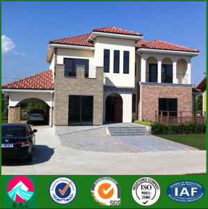 Low Cost Prefab House Light Steel Villa for Sale pictures & photos