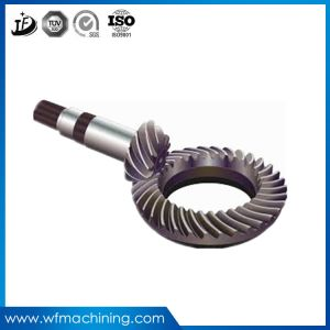 OEM Truck/Tractor Forging Transmission Pinion/Worm/Spiral Bevel Gear pictures & photos