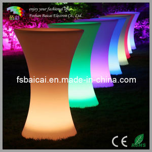 LED Ice Wine Bucket Cocktail Table
