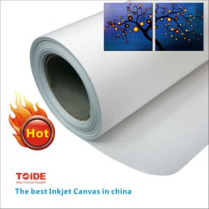 Inkjet Glossy Blank Canvas Roll pictures & photos