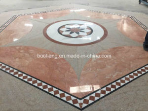 Waterjet Flooring Pattern Marble Medallion pictures & photos